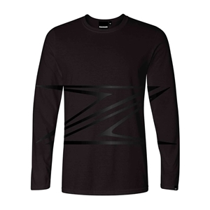 Long SleeveT-Shirt Z Collection Black