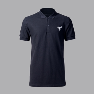 POLO SHIRT KAWASAKI OFF BLACK