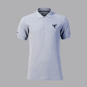 POLO SHIRT KAWASAKI OFF GREY