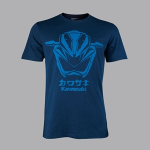 T-SHIRT LAMP HEAD Z250 BLUE