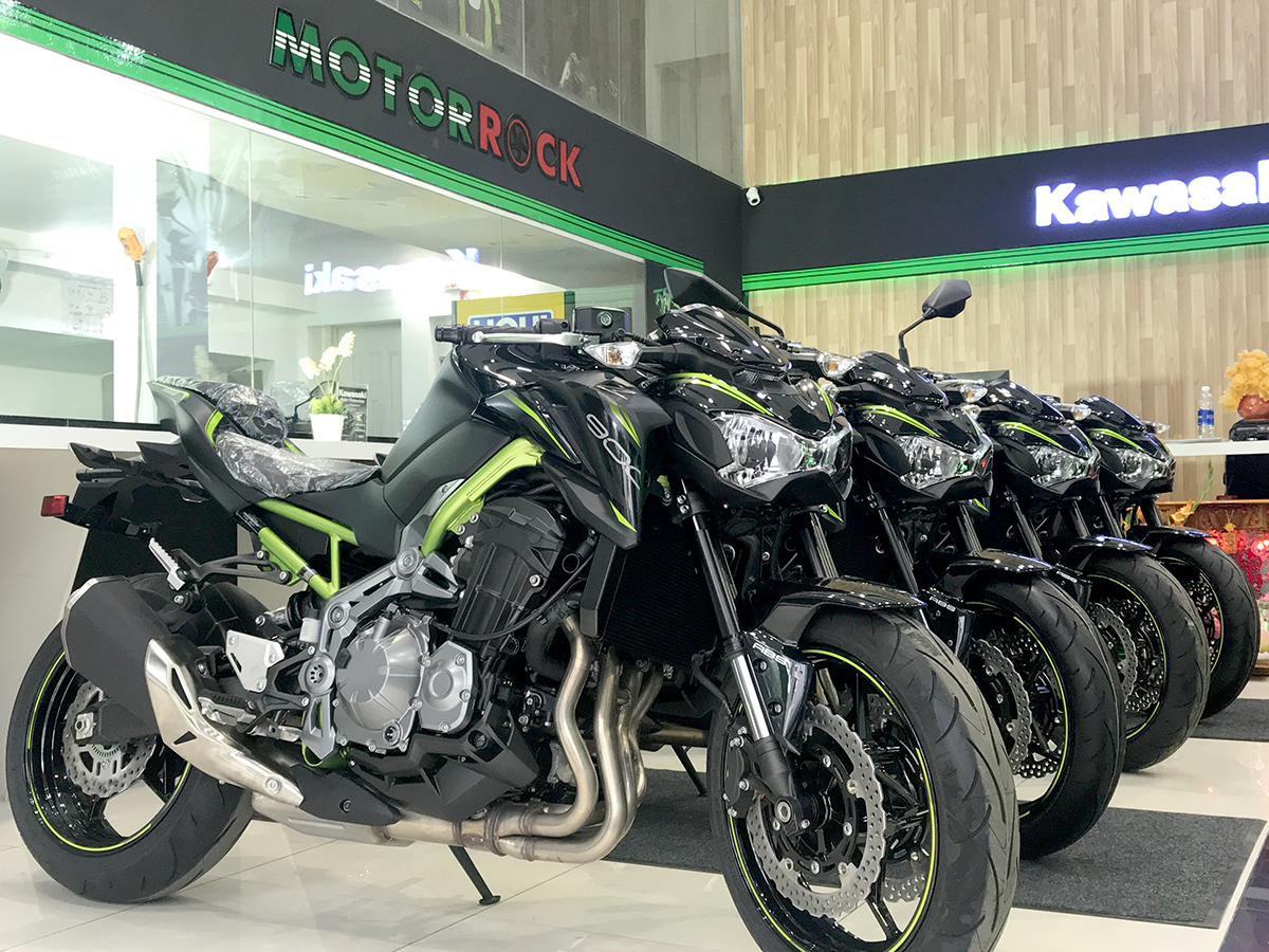 kawasaki Sai Gòn showroom