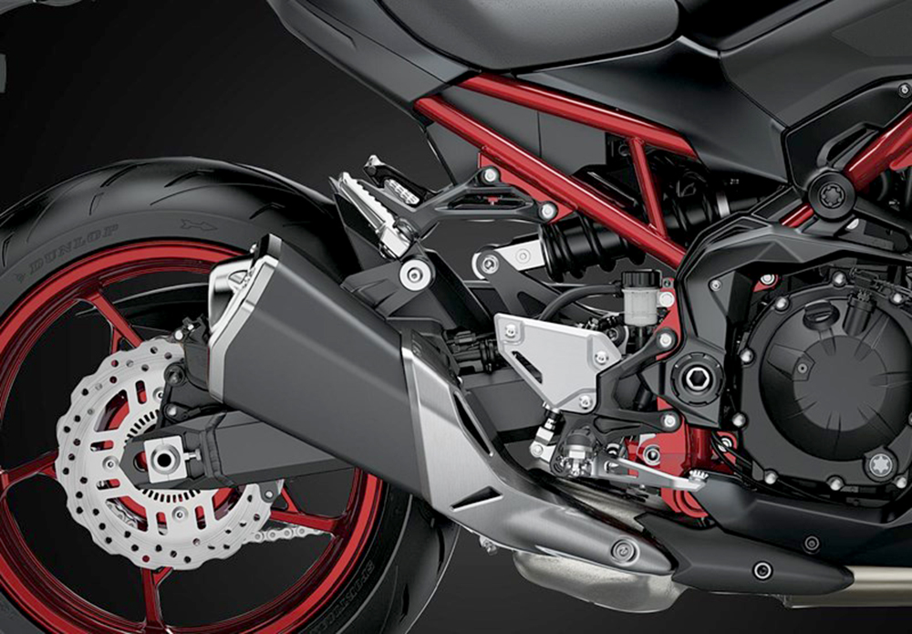 khung z900 abs 2021